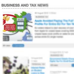 Latest Tax and Business News Has Now Moved...